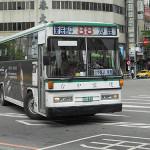市内バスは安くて路線が多いので、使いこなすと一番便利です