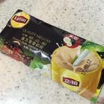 【台湾お土産】リプトン「ジャスミンミルクティー」後味が花の香りでいい