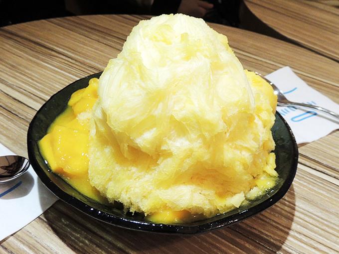 アイスモンスター台北のマンゴーかき氷
