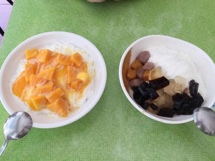台北でマンゴーかき氷を食べるなら、冰讃がおすすめ!安くて美味しい