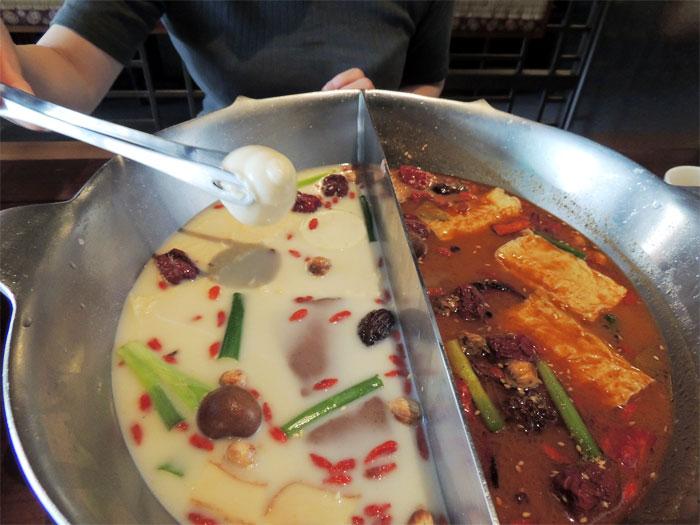 漢方薬膳鍋が有名な無老鍋。