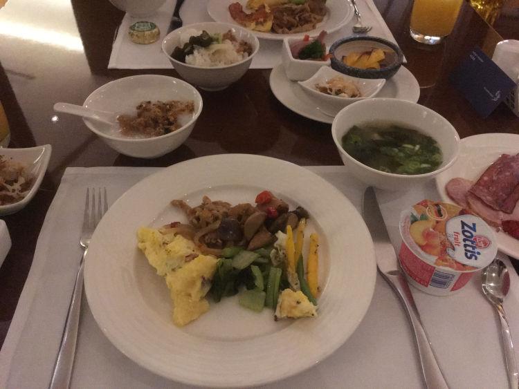 レスイーツ台北大安の朝食8